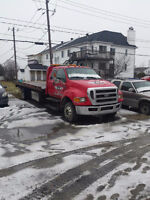 2009 f-650 towing plateforme