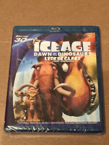Ice Age Dawn Of The Dinosaurs 3D Blu-Ray New