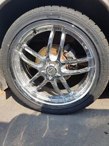 great deal on 20 in wheels with tread