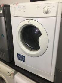 Indesit white vented tumble dryer