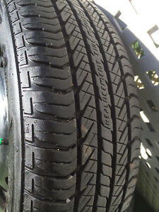 Evertrek Winter Tires with Rims - Used 1 month West Island Greater Montréal image 2