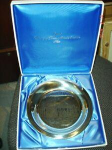 1977 Sterling Silver Univ. of Toronto Alumni Plate