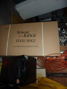 Brand New Fixie Bike -- Sumac Ridge Winery Special Promo