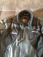 Leather/Textile (armour padded) Motorcycle Jacket