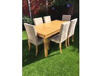 IKEA Table and 8 Chairs £325 or nearest offer.