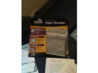 Fellows Cross-cut Paper Shredder