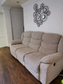 Oakland Furniture Sofa and Armchair