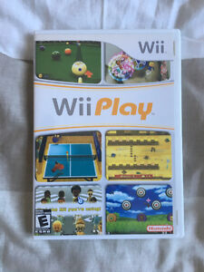 Wii Play $15 OBO
