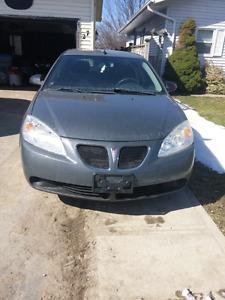 2009 G6 Pontiac