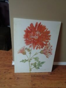 Canvas Flower Picture