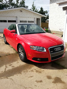 2009 Audi A4 SLine Convertible Limited Edition
