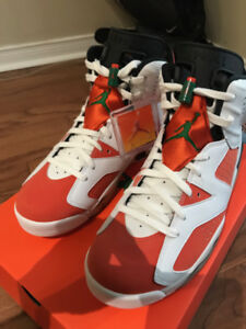 AIR JORDAN 6 GATORADE LIKE MIKE