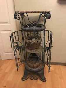 Wicker/Wrought iron Stands