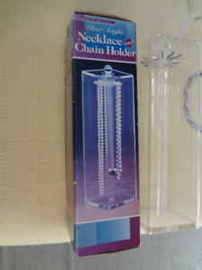 Necklace Chain Holder Display Unit - qty 2