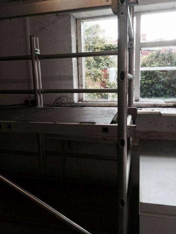 Indoor Scaffolding Platform : Tubesca speedy indoor scaffold in southport