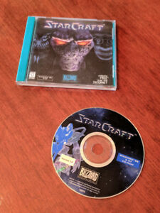 Starcraft Version 1.0 Star Craft Game Windows 95 & NT