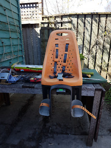 Yepp Maxi child bike seat with two adapters - $180