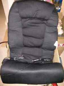Heating and massage chair cushion