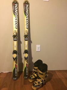 Rossignol Skiis and Boots