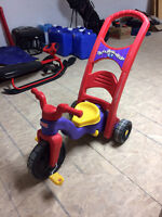 2 in 1 tricycle/rocker