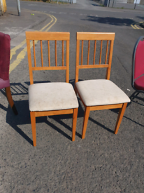 49. Selection of chairs