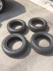 Four winter tires 175 65/R14 like new!