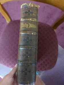 Pulpit Bible - 1870 - Printed by Oxford University Press Kitchener / Waterloo Kitchener Area image 2