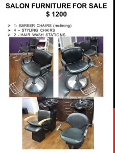 Salon Furniture For Sale