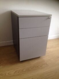 Under desk office filing cabinet and drawers