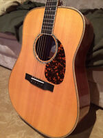 Larrivée D-50 Mohagany traditionnal dreadnought - impeccable!!!