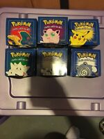 Pokemon 1999 limited edition gold plated Pokemon cards
