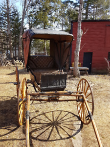 Century old Doctors Buggy, very rare