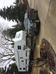 Truck and trailer combo
