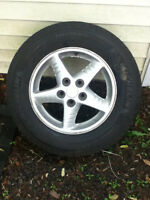 For Sale: 215/70 R16 Michelin X-Ice tires and rims