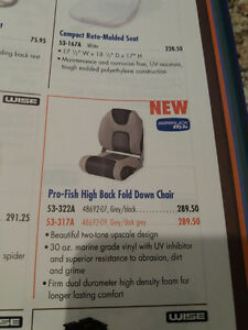 Fold Down Boat Seat/Chair
