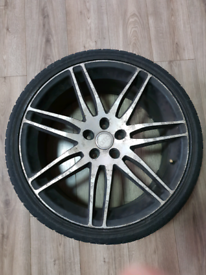 Audi alloys q7 a3 a4 s4 a5 rs4 rs5 vw golf