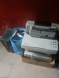 Free Printer/Scanners, vacuum cleaners (Not Working)