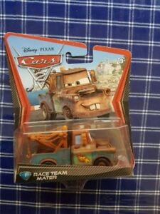 Disney Pixar Cars Diecast Race Team Mater
