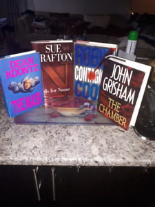 Hardcover Books - Most are brand new - Different authors