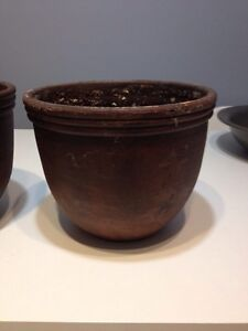 2 brown pots Kitchener / Waterloo Kitchener Area image 3