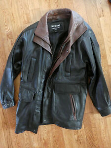 immaculate leather jacket