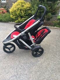 Phil and Ted's Vibe double buggy (can also be used as single)
