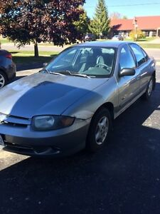 '03 Cavalier - Low Kms - Good condition