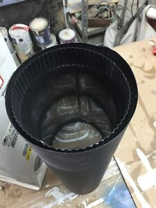 """Wood stove pipe 6""""x24"""" double wall Peterborough Peterborough Area image 4"""