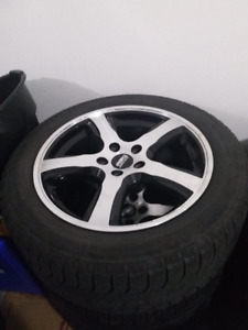 4 16inch Sport Edition F7 alloy rims with winter tires