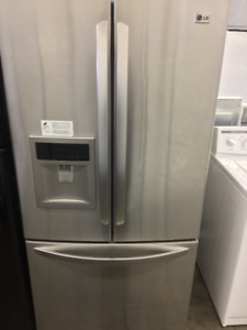 "LG Stainless Steel 32"" French Door Fridge"