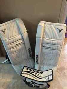 Goalie Pads and Blocker for sale