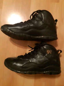 the latest 2a63b 611f7 Air Jordan Retro 10 NYC S (murder black)