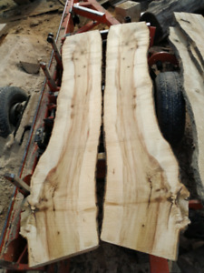 Live edge slabs up to 60% off