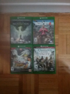 Selling my Xbox one games